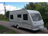NEW SHAPE 2000 ELDDIS CROWN 475 5 BERTH CRIS REGISTERED WITH FULL AWNING