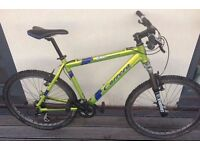 Mountain bike for sale (hard tail) - custom build - shimano, bombers forks, carrera magnesium frame