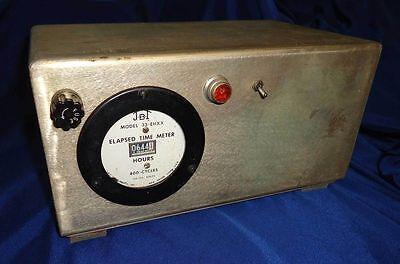 400 Hz Elapsed Time Meter Counts Elapsed Hours On 400 Hertz Devices Litton Built