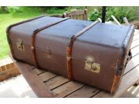 1920s steamer trunk, Barkers of Kensington