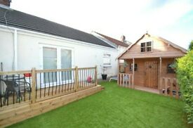 2 bed terraced bungaloe for rent... fab location