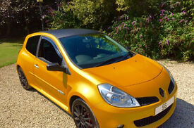 RARE! 56 Plate Renault Clio 2.0 197 Sport Renaultsport Liquid Yellow FSH HPI Clear Fully Powerflexed