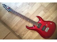 XCort X2 Red electric guitar