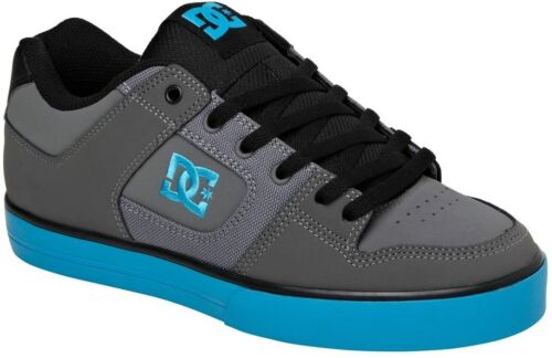 DC PURE SKATE SHOES BATTLESHIP/TURQUOISE ORIG. $60