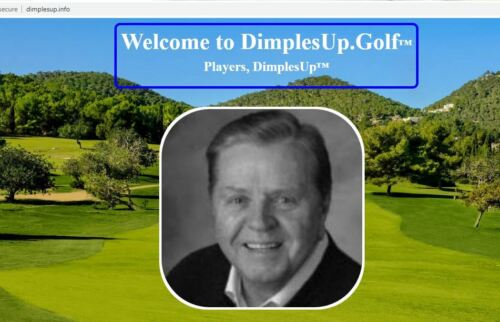 GOLF unique website FOR SALE or LEASE with products & services