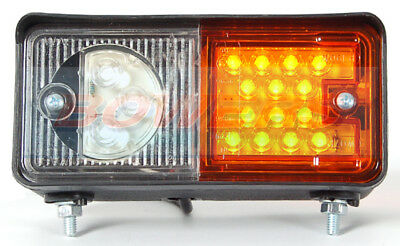 WAS WO6DL W06DL L/H LED FRONT SIDE AND INDICATOR COMBINATION LIGHT LAMP TRACTOR