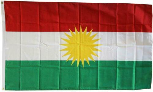 KURDISTAN FLAG 3X5 FEET KURDISH 3