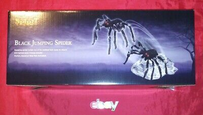 Spirit Halloween GIANT Jumping Spider Animated Prop Decoration 2020 NEW N BOX