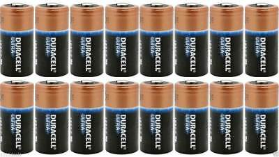Duracell Dl123a Ultra Lithium Cr123a 3V 16 Batteries