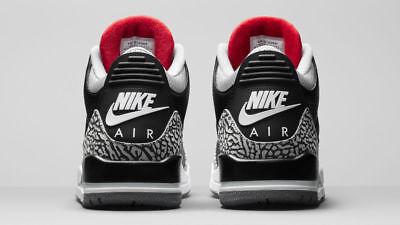 2018 Nike Air Jordan 3 III Retro OG Black Cement Size 13. 854262-001