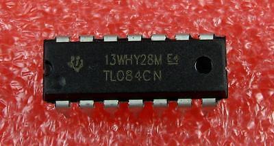 Ic Tl084 Tl084cn 14 Pin Dip Op Amp 5pcs Per Lot