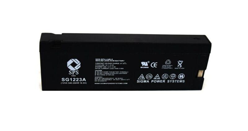 SPS Brand 12V 2.3 Ah (Terminal A)  for Panasonic Camcorders PV-BP80 (Camcorder B