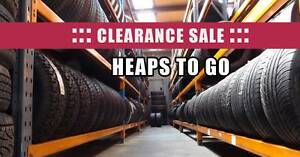 CLEARANCE SALE USED TYRES Civic Lancer Camry Falcon Commodore Burwood Whitehorse Area Preview