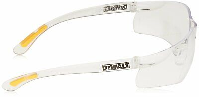 Dewalt Dpg52-1c Contractor Pro Clear Lightweight Protective Safety Glasses