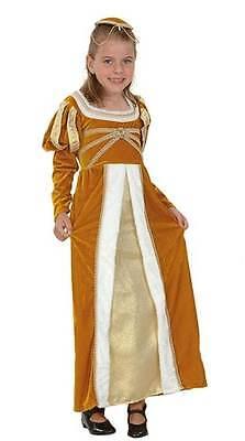EPHINE,TUDOR,KÖNIGIN,MÄDCHEN KOSTÜM,KINDER BUCH WOCHE #DE (Regal Prinzessin Kostüm)
