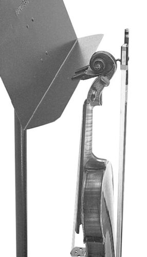 Violin or Viola and Bow Holder for Music Stands by Manhasset or Others, MPN 1300