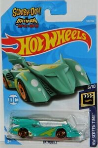 Hot Wheels 1/64 Scooby Doo & Batman Batmobile Diecast Car