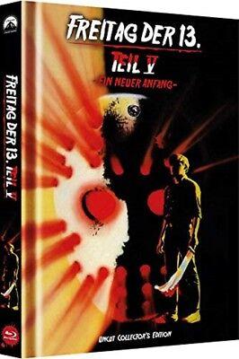 Mediabook FREITAG DER 13. TEIL 5 V EIN NEUER ANFANG Jason BLU-RAY + DVD Cover C ()