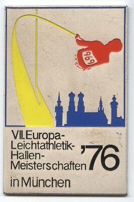 Orig.Teilnehmermedaille  Leichtathletik EM MÜNCHEN (BRD) 1976  !!  SEHR SELTEN