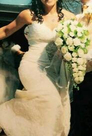 Wedding dress size 8-10