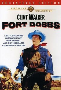 Fort Dobbs - Clint Walker Virginia Mayo Brian Keith Region 2 compatible NEW DVD