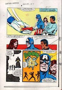 Original-1983-Captain-America-Annual-7-page-36-Marvel-Comics-color-guide-art