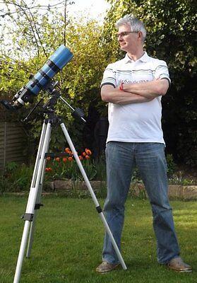 """SkyWatcher StarTravel 102 ST a superb 4"""" 500mm f4.9."""