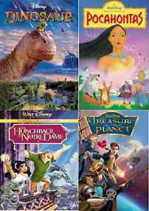 WANTED- 4 Disney Movies - DVD or Blu Ray