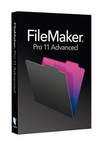 Serial Key for FileMaker Pro 11 Advanced Full Version