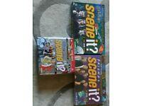 Scene it board games x3