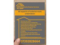Evolve Exterior services *Fascias/Roofs/Building/Guttering/Painting/Slabbing/Cleaning