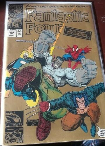 FANTASTIC FOUR #347 and 348 (MUST SEE!!!!)