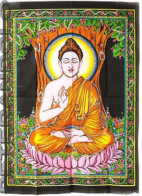 Batik Hanging Buddha Cotton 70x 54cm Hindu Peterandclo 4174