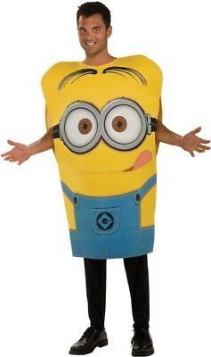 Despicable Me Movie Minion Dave Costume Adult Standard Licensed - Minion Costumes Adults