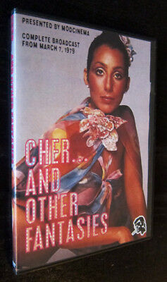 Cher  And Other Fantasies Dvd  Tv  1979 Elliott Gould Andy Kaufman Lucille Ball