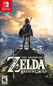New In Box LEGEND OF ZELDA Game For NINTENDO SWITCH (Sealed)