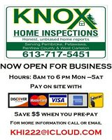 Home Inspections. Honest, unbiased and reliable.