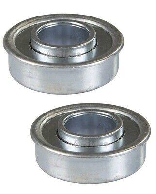 - 2 Flanged Wheel Bearing for Wheels Universal 1-1/8