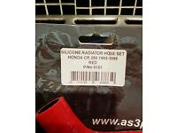 Cr250 radiator red hose kit