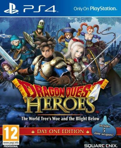 Dragon Quest Heroes - The World Tree and the Blight Below