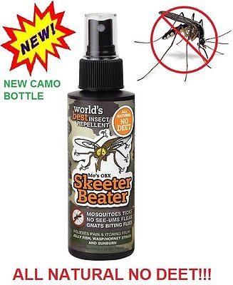 SKEETER BEATER - All Natural- NO DEET - Mosquito Repellent - PROVEN THE