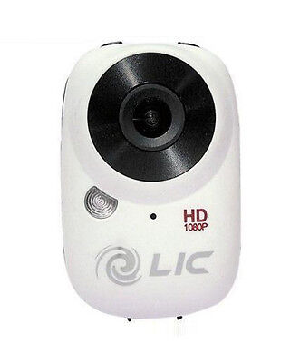 Ego Mountable Mini Extreme Sport Camera With WiFi By Liquid Image (727White)