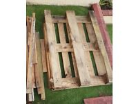 Free pallet and wood