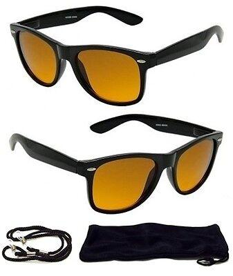 HD Driving Aviator SunGlasses Golf Vision Blue Blocker Lens High Definition NEW