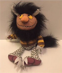 Where the wild things are moishe monster plush