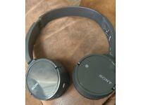 Wireless sony headphomes