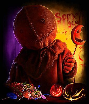 TRICK R TREAT SAM T SHIRT horror movie classic sci fi horror cult 2007 halloween](Halloween 07 Film)