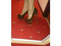 New Look Brown heels size 6