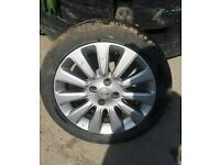 Nissan micra sport alloy wheel + tyre