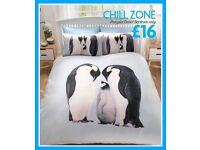 Penguin Themed Duvet Set